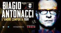 Si aggiungono due importanti appuntamenti a Roma e Padova, al tanto atteso L'Amore comporta tour 2014, il nuovo tour di Biagio Antonacci, che toccherà 16 città attraversando tutta l'Italia. Acquista ora! www.ticketone.it/biagio-antonacci