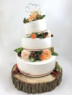 Hochzeit und so … – torteundmehr.at Baby Shower Favors Girl, Cake, Desserts, Food, Real Flowers, Wedding Cakes, Chef Recipes, Pies, Don't Care