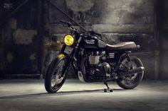 Triumph Bonneville T100 Custom by Bunker Custom Cycles