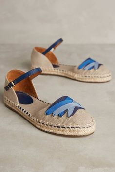 Anthropologie Jasper & Jeera Village Espadrilles Sz 40 Fits 9 - NIB #Anthropologie #Espadrilles