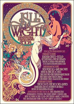2008 Poster - Isle of Wight Festival 9th - 12th June 2016 Book On the water Luxurious Nautical Festival Accommodation - Next door to the Festival Site. Salamander will be in the Island Harbour Marina. Guests will have full use of the marina and the award winning Breeze Restaurant and Bar. Details http://www.thesalamandersailingadventure.com/#!isle-of-wight-festival-accommodation/env5z/