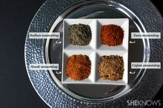 4 Homemade spice mixes http://www.sheknows.com/food-and-recipes/articles/1021669/4-homemade-spice-mixes