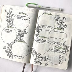 •weekly spread week 4• I see so many gorgeous botanical spreads on Instagram, so I decided to start praciting my florals and botanicals! This weekly is one way to practise them. —————————————————— #bulletjournal #bujo #bulletjournallove #bujolove #bujojunkies #bulletjournaljunkies #bujoloversnl #bulletjournalss #weeklyspread #weekly #planneraddict #plants #planwithme #botanical #florals