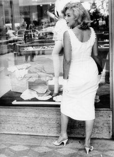 Marilyn Monroe in 1957