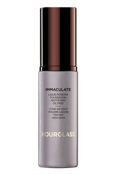 Hourglass Immaculate Liquid Powder Foundation, $55 https://www.hourglasscosmetics.com/immaculate-liquid-powder-foundation