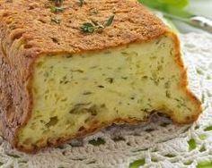 Cake au chèvre, thym et miel