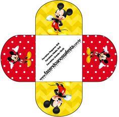 Forminhas Docinhos Mickey: