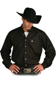 Black Solid :: Classic Shirts For Kyle
