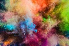 Image Details: Isignstock Contributors Stock photo of Colorful powder splashing in the air. Colorful powder splashing in the air. Smoke Background, Geometric Background, Background Patterns, Watercolor Paper Texture, Pink Watercolor, Photoshop, Rose Gold Texture, Neon Backgrounds, Space Photos