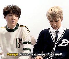 Repining because I just love the way Jimin smiles at Yoongi