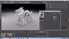 """Complete tutorial on creating, shading, lighting, rendering and comping a basic product shot in - Scene Setup / """"modeling"""" -… Rendering Engine, Cinema 4d, Scene, Glass, Dragon, Product Shot, Tutorials, Technology, Lighting"""