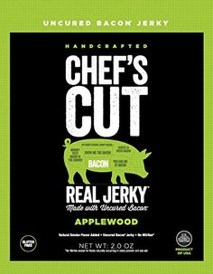 Chefs Cut Real Bacon Jerky Applewood 2 Ounce >>> For more information, visit image link.