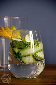 Drink jezelf gezond! White Wine, Wine Glass, Smoothies, Alcoholic Drinks, Vegan, Tableware, Popsicles, Soda, Link