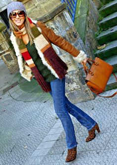 COCOOLOOK: WOOL HAT & SCARF