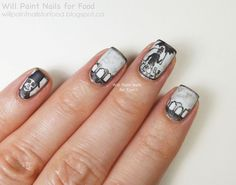 Guest Post at Lacquered by Blue Vanilla - Will Paint Nails for Food