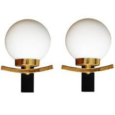 Maison Lancel Pair of Sconces, Three Pairs Available
