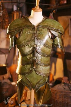 Awesome leather armor