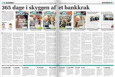Oktober 2013  Baggrund i anledning af 1-årsdagen for Tønder Banks krak. Den løbende dækning er netop blevet belønnet med den interne Peter von Westen-prisen anno 2013.