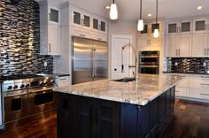 White Kitchen New Builds, Sweet Home, Design Ideas, House Design, Costume, Interior Design, Building, Kitchen, Home Decor