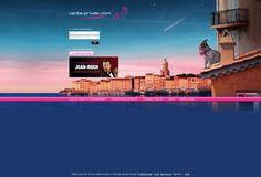 El nuevo decorado de vente-privee.com nos lleva a la Costa Azul al ritmo del primer álbum de Jean Roch