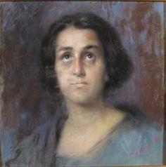 Volto di donna, Onofrio Tomaselli.