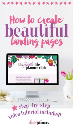 Ever wondered how to create beautiful landing pages even if you're not very tech savvy and don't want to touch code? I've found a tool that helps me create custom landing pages that are completely customizable and are mobile friendly, plus they have lots of handy extras (like countdown timers, split testing, easily add conversion tracking pixels, etc). The pages work on their own or you can easily put them on your wordpress blog. Click on over to see a tutorial showing you how to make your…