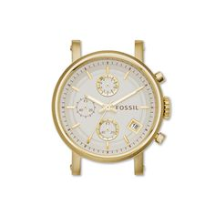 Original Boyfriend Chronograph Gold-Tone Stainless Steel Watch Case - Fossil