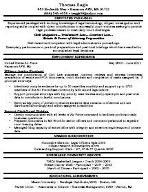 attractive - Paralegal Resumes Examples