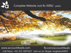 Account4WEB || Web Hosting in Pakistan.: Low Cost Website Designing And Development Service...