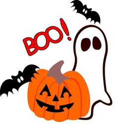 Boo! Halloween Emoticon