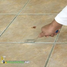 How to Repair Cracked Tiles   Ceramic Floor Fixes   Pinterest     Ceramic tiles can crack through damage if a heavy object is dropped on  them  Replacing a single tile is more cost effective than retiling an  entire floor