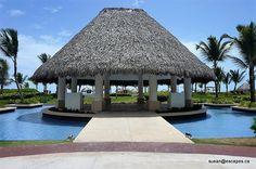 HR Punta Cana, stunning wedding gazebo pool side
