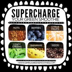 6 Energy-boosting ingredients for green smoothies - Simple Green Smoothies