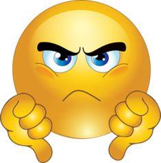 Grumpy Face Clip Art | Grumpy Smiley Emoticon Clipart | i2Clipart - Royalty Free Public ...