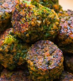Tater tots are the best but try broccoli tots if you want an awesome alternative.