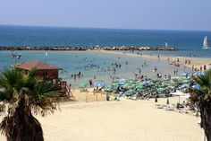tel aviv beaches make the top 10 in the in the world! wear your sunscreen and enjoy