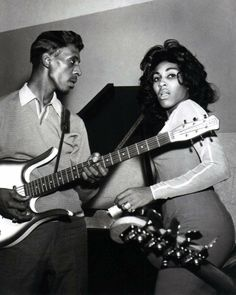 Ike and Tina in the 60's