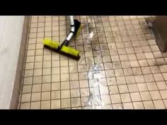 Kaivac Restroom Battery Cleaning - YouTube Cleaning, Youtube, Home Cleaning, Youtubers, Youtube Movies