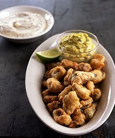 Find the recipe for Fried Beer-Battered Mussels with Two Sauces and other mussel recipes at Epicurious.com