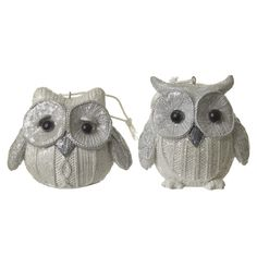 Add a gorgeous touch of woodland charm to your home with this fabulous duo of white owls.  Dimensions: 8x7x7.5cm  Product Code: SM124   £9.00 FOR 2