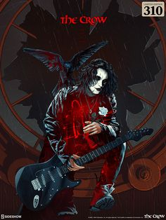 The Crow: Real Love Is Forever Screenprint by Kevin Tong | Sideshow Collectibles