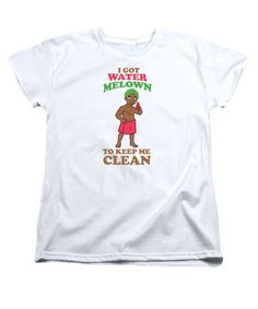 What's not to love? Women's T-Shirt (... :-) http://www.sustainthefuture.us/products/womens-t-shirt-standard-cut-i-got-water-melon?utm_campaign=social_autopilot&utm_source=pin&utm_medium=pin