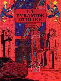 Victor Billetdoux 1 La pyramide oubliée - stripinfo.be