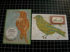 More bird cards by Ms. Ruin