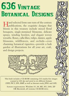 Welcome to Dover Publications: Old-Fashioned Floral Designs
