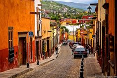 Mexico: San Miguel de Allende  Has a lot of Spanish influence--looks a bit like Toledo or Sevilla. There are Independence Day celebrations in fall and Day of the Dead ceremonies. Hike to El Chorro, the old waterworks and site of the town's founding.