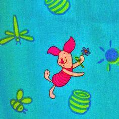 One YARD Winnie the Pooh Print Quilting Cotton by DartingDogFabric