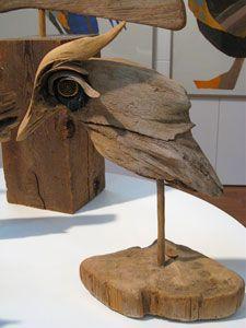 Barbara Uhl Driftwood Bird