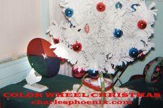 Color wheel Christmas tree