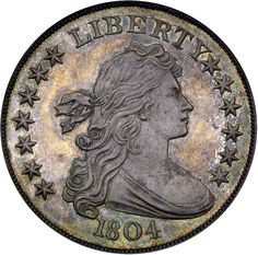Once owned by the legendary King of Siam, this 1804-dated U.S. silver dollar is valued at $6,500,000 in the 2011 PCGS Million Dollar Coin Club. (Photo credit: Rare Coin Wholesalers.)